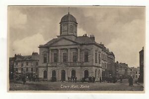 KELSO-THE-TOWN-HALL-OLD-PRINTED-POSTCARD
