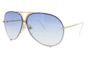 5119919f6ec New Porsche Design P 8478 W Gold  Blue Gradient Brown Sunglasses