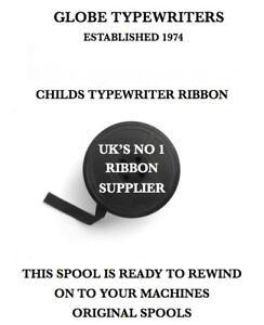"6.5mm/1/4"" *PETITE CHILDS* TYPEWRITER RIBBON FOR MACHINES WITH ORIGINAL SPOOLS"