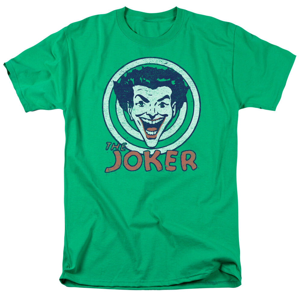 The Joker Ha Ha Officially Licensed Vintage Batman DC Comics Adult T-Shirt