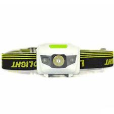 300Lumens LED Headlight Headlamp 4-Modes 3 x AAA Batterie Stirnlampen Kopflampe