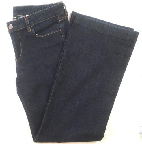Stretch Uk 12 J Indigo Wide American Women's Usa 8 Jeans ~ Crew Leg Størrelse fYxrW0Ow7f
