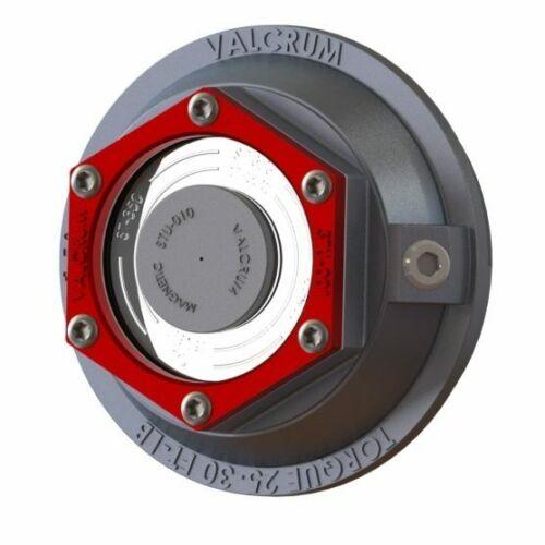 """Valcrum ST-350 3-1//2/"""" Universal Aluminum Trailer Oil Hub Cap for 9-10K GD Axles"""