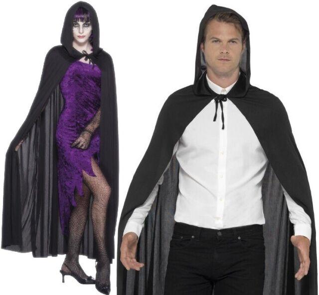Adult Unisex Fancy Dress Cape Vampire Reaper Cloak One Size by Smiffys