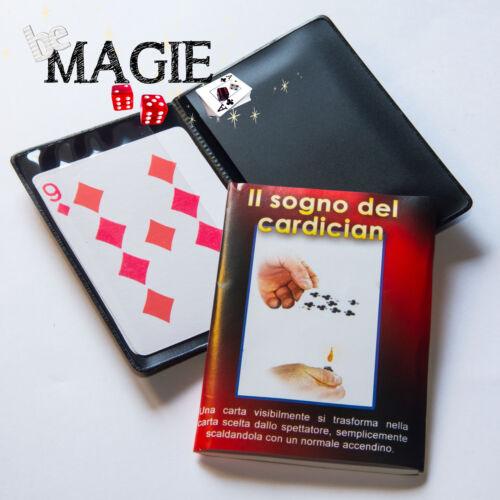 Cardician's Dream - Set de 2 cartes - Changement de carte par le feu - Magie