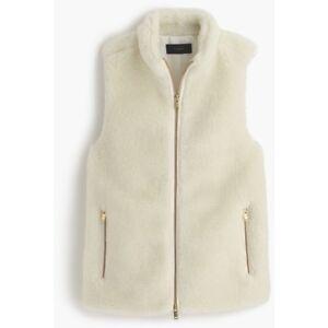 Ivory Plush Wash Size J Machine crew Medium Fleece Nwt Excursion White Vest 4nFqRX