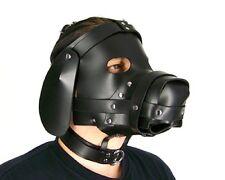 Puppy Dog Leather Bondage Hood by Axovus