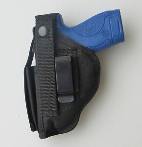 Gun-Holster-Hip-for-WALTHER-PK380-Belt-Clip-with-Mag-Pouch