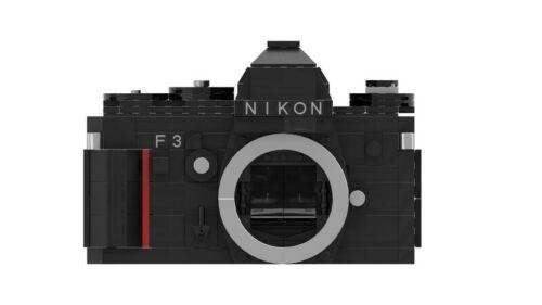 PDF Instructions Manual LEGO MOCNikon F3 Film SLR Camera Part List