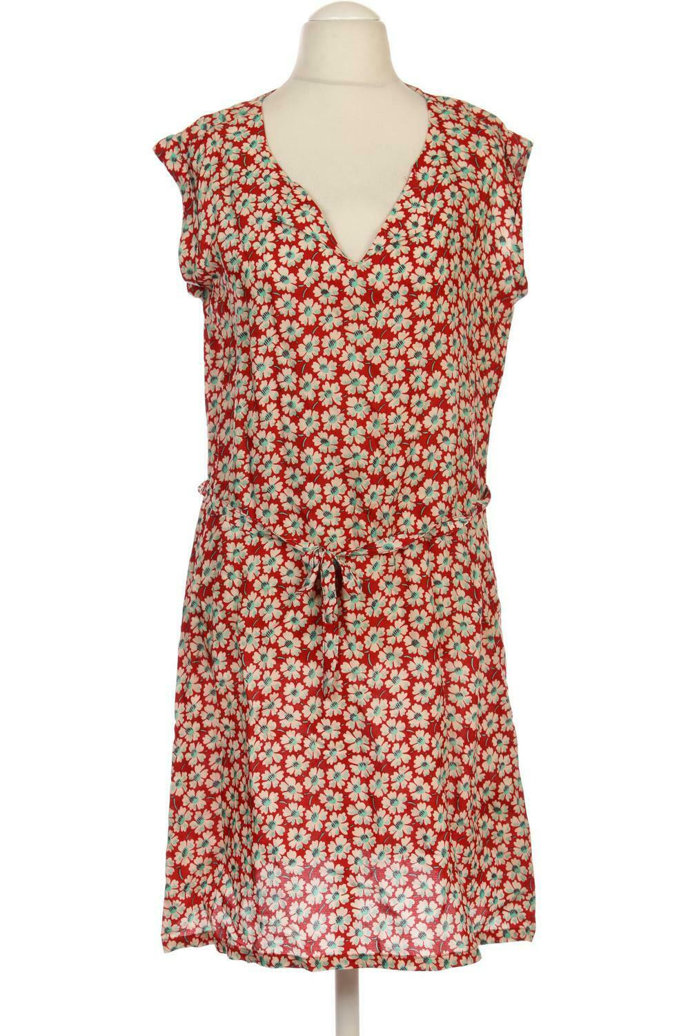 KING LOUIE Kleid Damen Dress Damenkleid Gr. DE 42 Viskose rot  86ee094