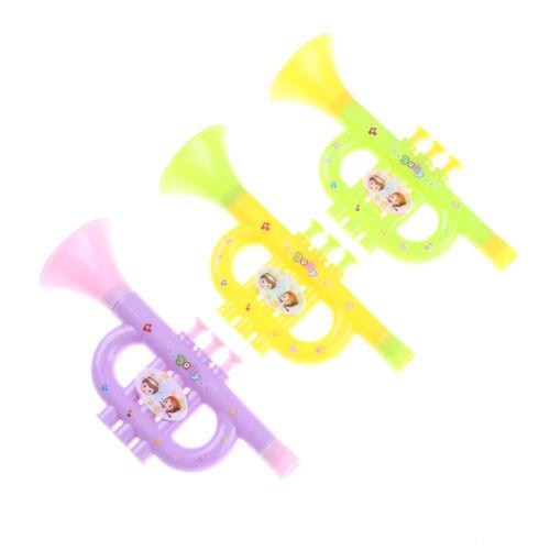 Bébé coloré en plastique trompette Hooters enfants instrument de musique jo SQ