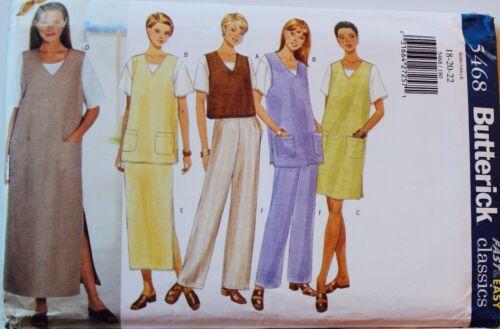 Misses /& PLUS SIZE JUMPER DRESS /& WARDROBE Sew Pattern ~ UC U PICK