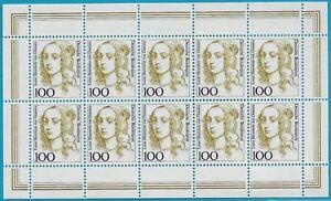 Bund-aus-1994-postfrisch-MiNr-1756-Kleinbogen-Luise-von-Oranien