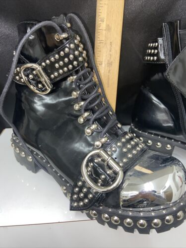 Jeffrey Campbell  Black Leather Bootie US Size 8