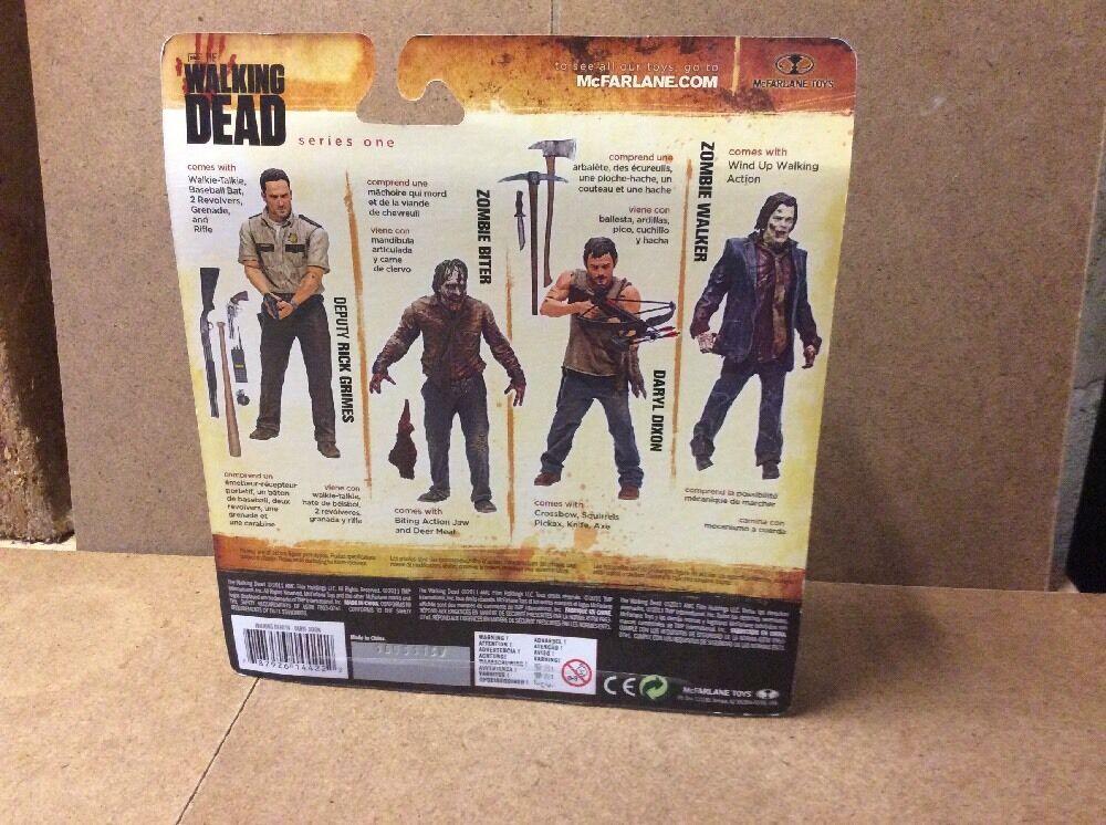 AMC The Walking Dead Series Series Series 1 Daryl Dixon MOC Sealed Action Figure Mcfarlane Toy 3b2336