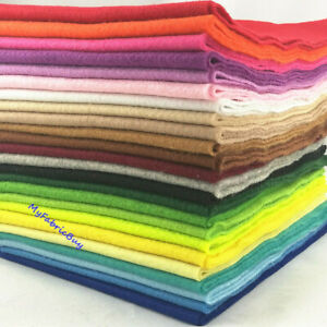 Roll-By-The-Yard-Soft-Felt-Fabric-Non-Woven-Sheet-Patchwork-Craft-DIY-Material