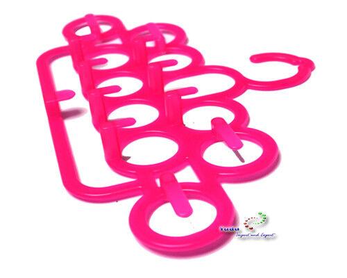 Raumsparbügel Bügel Multi Hänger für Schals  Krawatten Gürtel mehr Farben