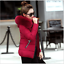 Hot-Winter-Women-039-s-Down-Cotton-Parka-Short-Fur-Collar-Hooded-Coat-Quilted-Jacket thumbnail 11