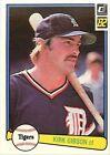 1982 Donruss Kirk Gibson #407 Baseball Card