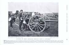 1896 12-pound Gun Field Artillery Drill Graves-sawle Pole-carew