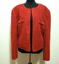 CULT VINTAGE '80 Giacca Caban Donna Viscosa Rayon Woman Jacket Sz.XL - 48
