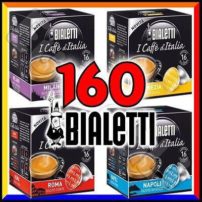160 Capsule caffè BIALETTI A SCELTA Mokespresso cialde alluminio espresso Mokona