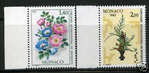 MONACO-TIMBRES-1295-1296-NEUF-XX-LUXE
