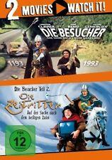 DIE BESUCHER & DIE ZEITRITTER - JEAN RENO / CHRISTIAN CLAVIER - 2 DVD - NEU!!