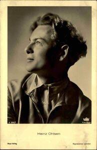 Schauspieler-Kino-Film-Ross-Verlag-1930-Portraet-AK-Nr-3342-1-HEINZ-OHLSEN