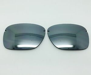 3c4624f4b80 Image is loading Oakley-Tailback-aftermarket-custom-replacement-lenses -Silver-Mirror-