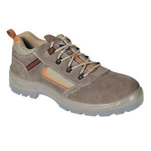 Candide Baskets De Sécurité Chaussures Reno Low Cut Work Boots Randonnée Marche Vets Fc52 T-afficher Le Titre D'origine