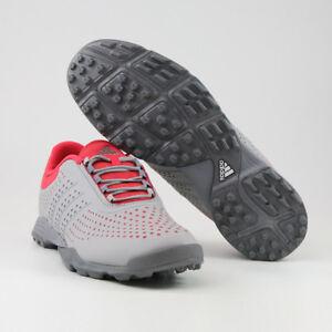 Adidas adipure Sport Damen Golfschuhe, Grau Rot NEU