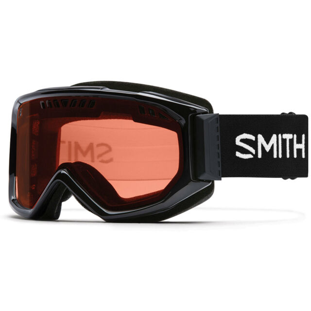 37c900a2662 Smith Scope Pro Winter Goggle Black With Rc36 Rose Copper AF Lens ...