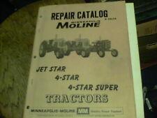 Repair Catalog R 2013a Minneapolis Moline Jet Star 4 Star 4 Star Super Tractors