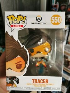 Games Vinyl Figure Tracer 550 New with Damaged Box Overwatch POP