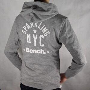 new style f9a33 bbfd5 Details zu Pullover Jungen Bench Sweatjacke Jacke Grau Marken Günstig  Kinder versch. Größen