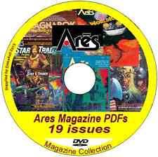 Ares - Science Fiction Wargame Magazine 19 issues DVD fantasy and superhero RPG