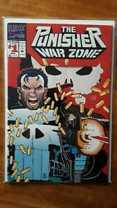 Punisher-War-Zone-1-Variant-Cover-Marvel-High-Grade-Comic-Book-RM11-156