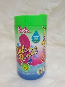 Barbie Color Reveal Doll Wave 2 Green Tube~Scented Food Series~New Sealed~