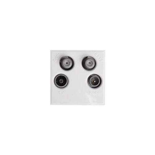 GA222851 MW750 Antiference Module TV , Radio & Twin Sat White