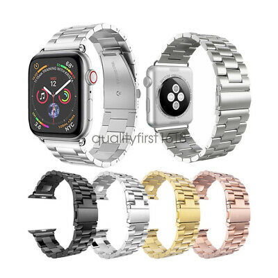 Stainless Steel Iwatch Strap 44mm 42mm 40mm Jewelry & Watches For Apple Watch Band Series 4 3 2