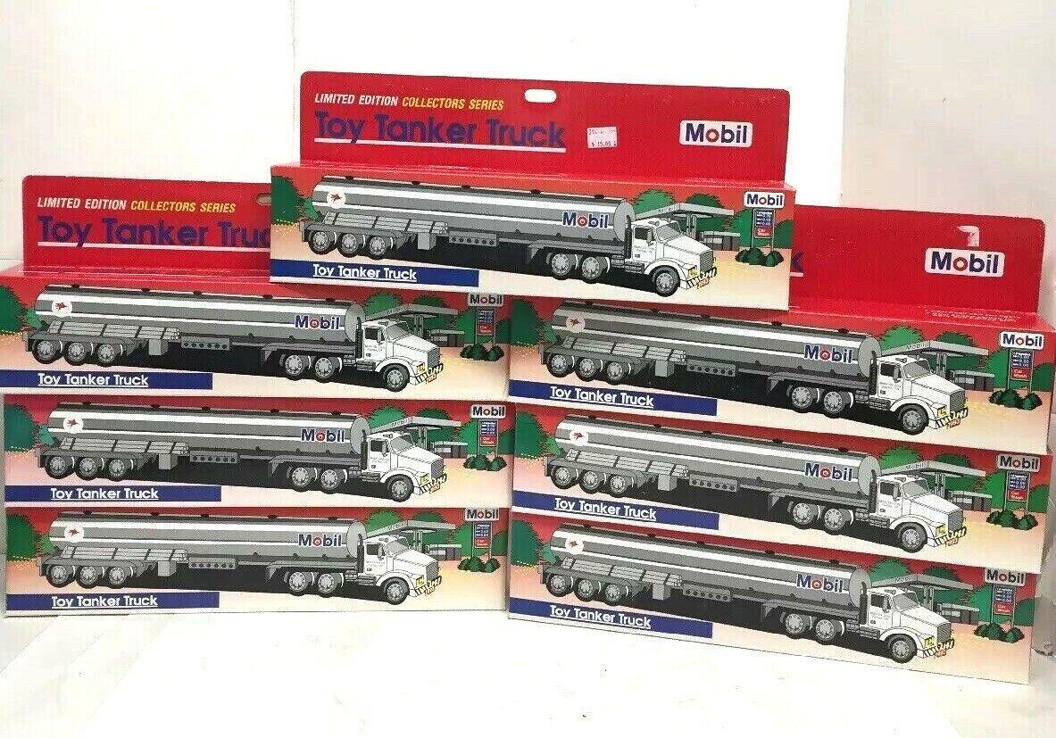 Lot de 7-MOBIL  OIL Corp jouet camion citerne 1993 Édition Limitée Collector Series  haute qualité