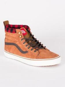 5593c4fcc6f600 Vans UA SK8-Hi MTE Glazed Ginger Men All Weather New feet warm   dry ...