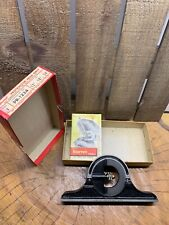 Vintage Starrett Protractor Head Only Pnr 1224 N0 490 For Combination Sets