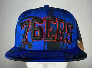 Mitchell and Ness NBA Philadelphia 76ers Process HWC Snapback Hat, Cap, New