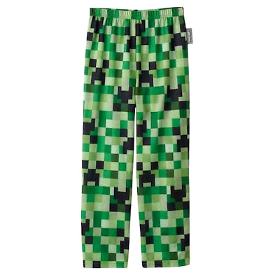 Minecraft Boys Creeper Lounge Pants