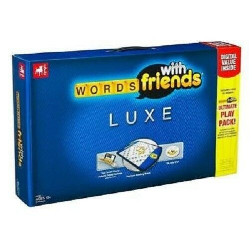 ZYNGA WORDS WITH FRIENDS Luxe Edition Game, New by Hasbro