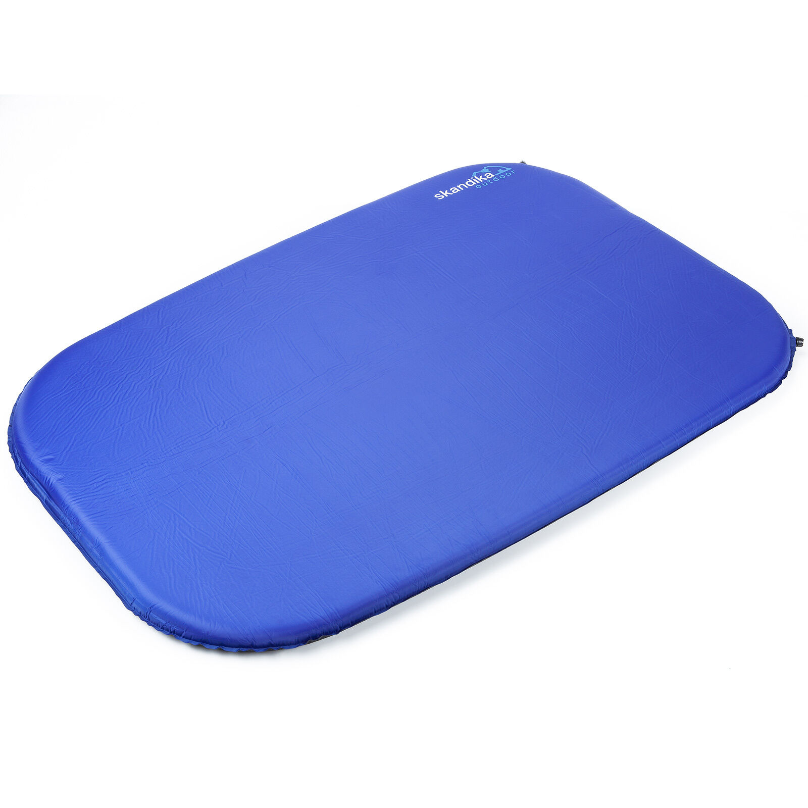 Skandika azul Night Double Sleepwell 7 cm doble-esterilla 198x130x7 nuevo