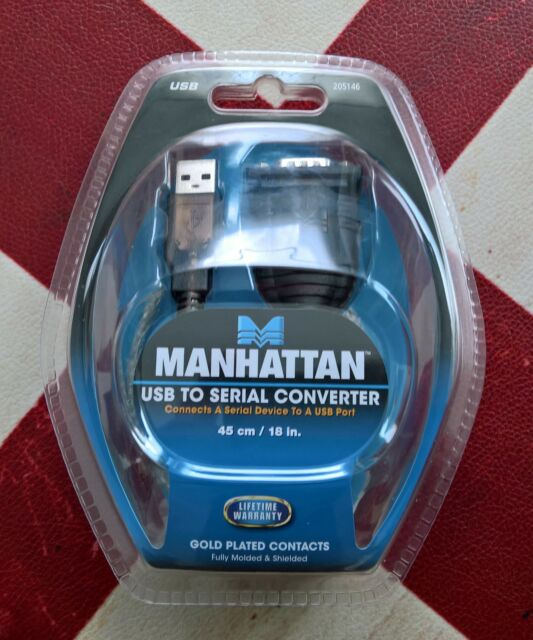 Convertitore USB a Seriale RS-232 Manhattan 205146 Prolific PL2303