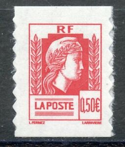 STAMP-TIMBRE-FRANCE-NEUF-N-3716-MARIANNE-ALGER-ADHESIF